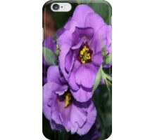 The Purple Bluebell iPhone Case/Skin