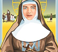 Saint Mary of the Cross MacKillop  by contourcreative