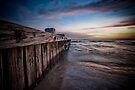 Alongside the jetty by Shari Mattox