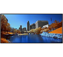 Infrared Omaha Photographic Print
