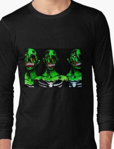 Zombie day of the dead gals Long Sleeve T-Shirt