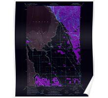 USGS Topo Map Washington State WA Bow 240178 1954 24000 Inverted Poster