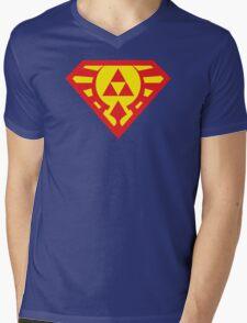 Super Triforce Mens V-Neck T-Shirt