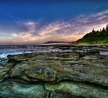 Shelly Beach by Sam  Parsons