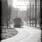 Melbourne Morning Tram by Andrew Wilson