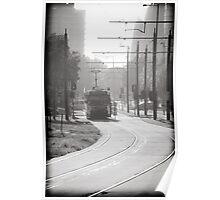 Melbourne Morning Tram Poster