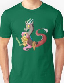 Discord and Fluttershy Cuddles T-Shirt