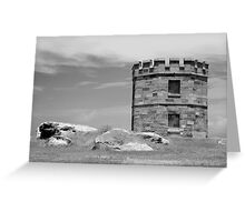 La Perouse Fort Greeting Card