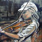 Alice and her Violin by wendie patch