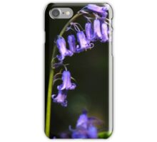 Bluebells in May iPhone Case/Skin
