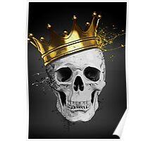 Royal Skull Poster