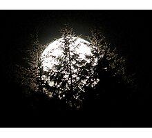 Moon Zap Photographic Print