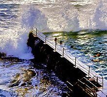 BONDI BEACH ICEBERGS by normanorly