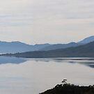Lake Pedder - 8 image merge by gaylene