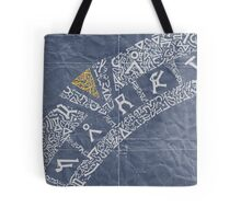 Earth (Navy) Tote Bag