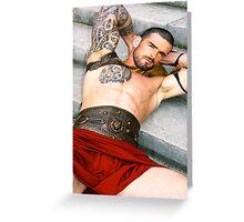 Stuart Reardon  - Spartacus Greeting Card
