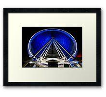 The Brisbane Wheel Framed Print