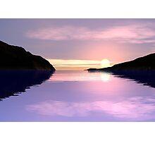 Lilac Sunrise Photographic Print