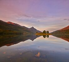 Highland Reflections by Jeanie