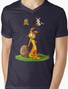 Precursors are Bunnies Mens V-Neck T-Shirt