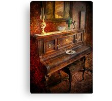 Vintage Piano Canvas Print