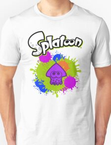 Splatoon Squid - Deep Purple  T-Shirt