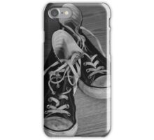 Black and White Kicks iPhone Case/Skin