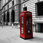 London Phone booth by gleekfr