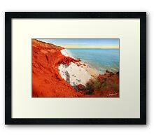 Slipjack Point - Cape Peron Framed Print