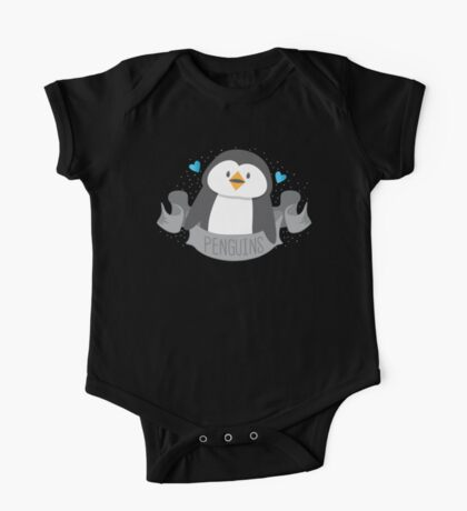 Penguin on a banner One Piece - Short Sleeve