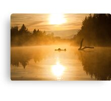 Morning Mist - Canberra Lake Canvas Print