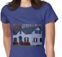 Autumn Evening Home Glow Womens Fitted T-Shirt