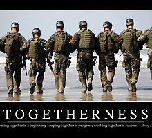 Togetherness: Inspirational Quote and Motivational Poster by StocktrekImages