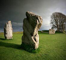 Avebury: Sunsine & Stone by Angie Latham