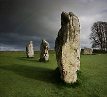 Avebury: Silent Sentinels by Angie Latham