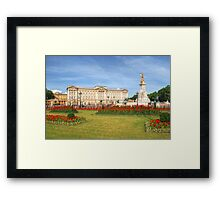 Buckingham Palace And Garden Framed Print