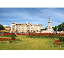 Buckingham Palace And Garden Photographic Print