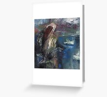 saleswoman blossoming willow Greeting Card