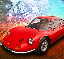 Ferrari Dino by Stuart Row