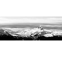 The Black Tusk of B.C. Photographic Print