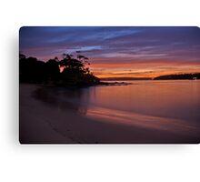 Balmoral Dawn , Balmoral, Sydney NSW Australia - The HDR Experience Canvas Print