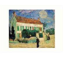 The White House at Night by Vincent van Gogh Art Print