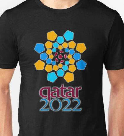 Qatar 2022, Fifa World Cup logo Unisex T-Shirt