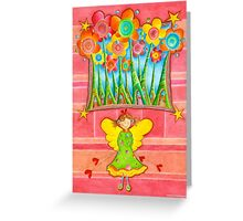 Magic Angel Greeting Card