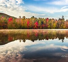 Autumn at Indian Boundary Lake by Kellie Sharpe