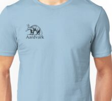 Aardvark black logo Unisex T-Shirt
