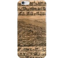 Panoramic Maps Truro Nova Scotia 1889 iPhone Case/Skin