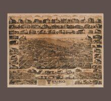 Panoramic Maps Truro Nova Scotia 1889 One Piece - Short Sleeve