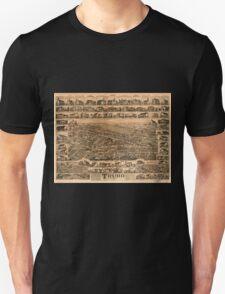 Panoramic Maps Truro Nova Scotia 1889 T-Shirt