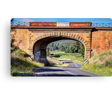 """""""Road to Paradise"""" Canvas Print"""